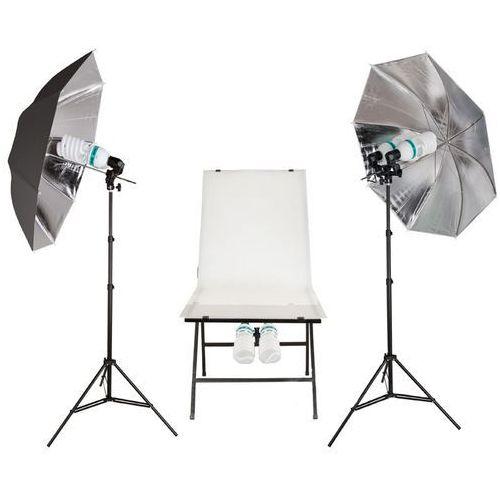 FreePower Stół bezcieniowy 3x800W do fotografii produktowej silver