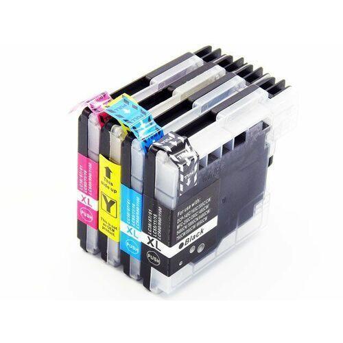 Zestaw lc1100 / lc980 4 tusze do drukarek brother dcp 145c / 165c / 195c / 365c / czarny, niebieski, żółty, czerwony marki Dd-print