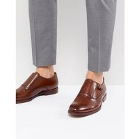 ALDO Catallo Leather Monk Shoes In Tan - Tan