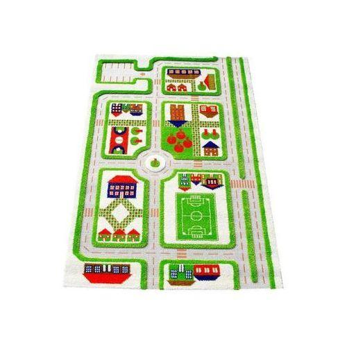 Ivi Dywan miasto zabaw 3d 100 x 150 cm zielony