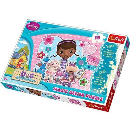 Klinika dla pluszaków puzzle magic decor marki Trefl