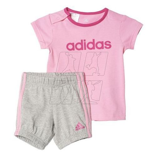Komplet  summer easy girls set kids ak2610 od producenta Adidas