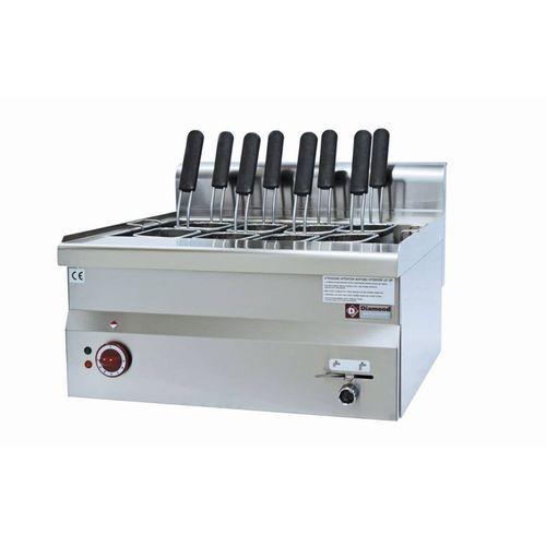 Urządzenie do gotowania makaronu 30L | nastolne | 9kw | 600x600x(H)280/400mm