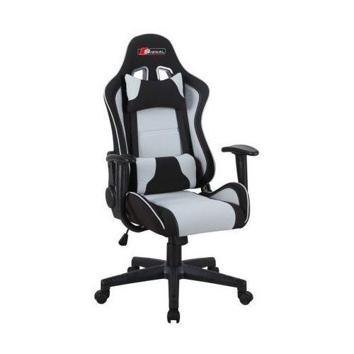 Fotel obrotowy SIGNAL Zanda czarny-szary Fotel gamingowy dla gracza! DOSTAWA GRATIS, Signal