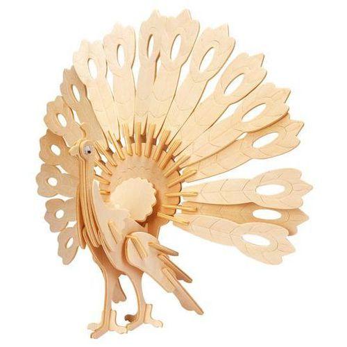 Eureka Łamigłówka drewniana gepetto - paw (peafowl) (5425004731630)