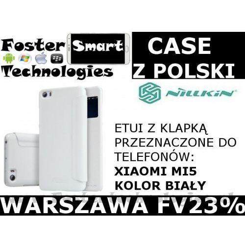 Nillkin CASE KLAPKA Xiaomi MI5 BIAŁY zPL FV23%, kolor biały
