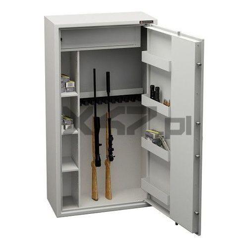 Konsmetal Szafa na broń długą mlb 150d/10+4 s1