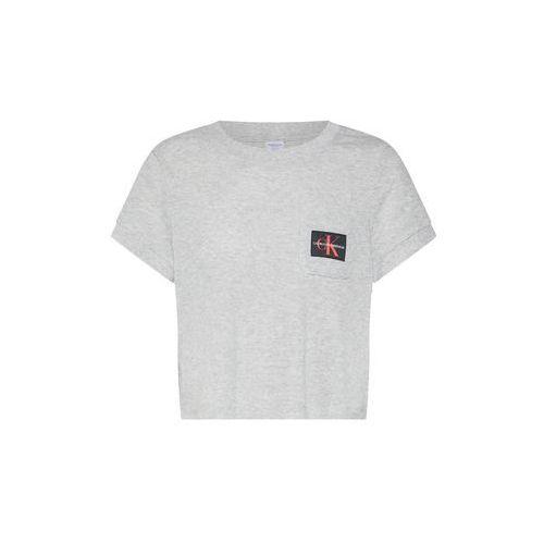 koszulka do spania jasnoszary marki Calvin klein underwear