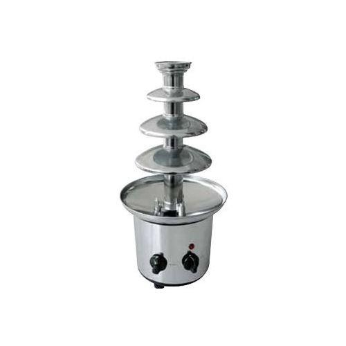 Czekoladowa fontanna stal nierdzewna | chromowana | 1200 g | 175w | 220-240v | śr. 215x(h)460mm marki Optimal