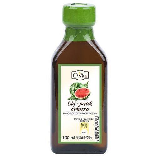 Olej z pestek arbuza zimnotłoczony nieoczyszczony 100ml OLVITA, 5903111707316