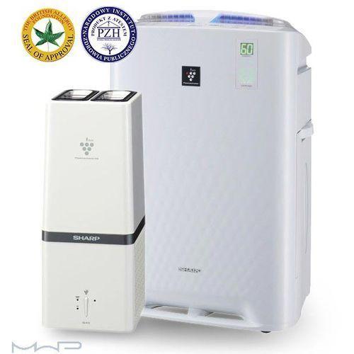 Inteligentny oczyszczacz powietrza z funkcją nawilżania + generator plasmacluster hd marki Sharp. Najniższe ceny, najlepsze promocje w sklepach, opinie.