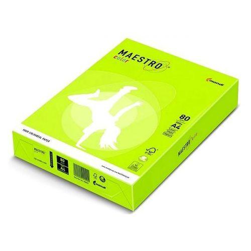 Papier ksero Maestro Color A4 80g neonowy zielony NEOGN