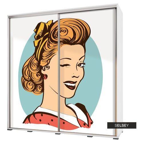szafa wenecja 205 cm pin-up girl marki Selsey