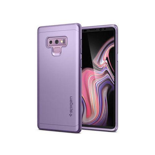 Etui Spigen Thin Fit 360 +szkło Samsung Galaxy Note 9 Lavender - Fioletowy (8809613761580)