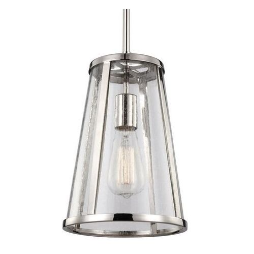 Lampa wisząca harrow fe/harrow/p/s - lighting - rabat w koszyku marki Elstead