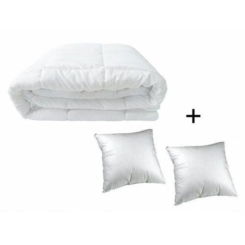 Dreamea Zestaw 2 poduszki 60 x 60 cm + kołdra 240 x 260 cm sweet dreams