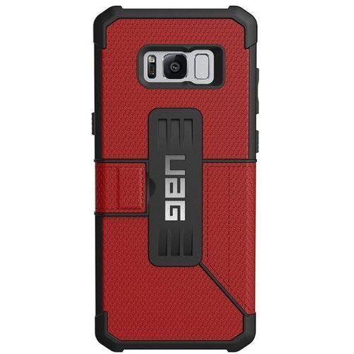 Etui URBAN ARMOR GEAR Metropolis do Samsung Galaxy S8 Plus Czerwone