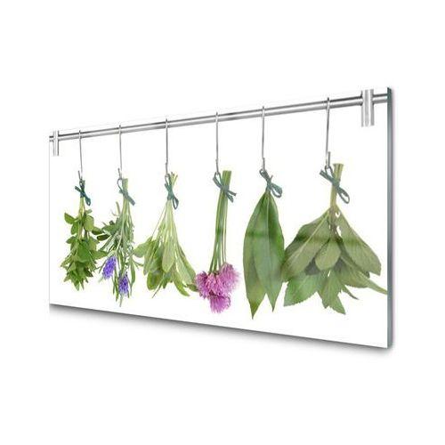 Panel szklany zioła suszone liście kwiaty marki Tulup.pl