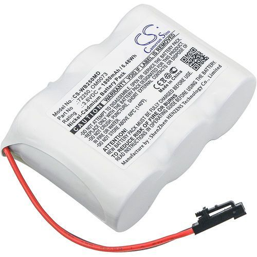 Cameron sino Welch-allyn lumi view / 72250 1800mah 6.48wh ni-cd 3.6v () (4894128141723)