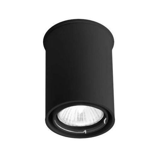 Spot lampa sufitowa osaka 1119/gu10/cz natynkowa oprawa downlight czarny marki Shilo