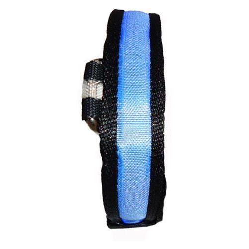 Niebieska obroża  dla małego psa - świecąca xs marki Eyenimal