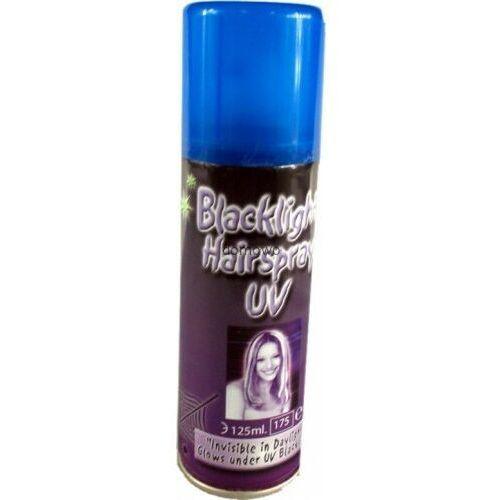 Magiczny spray lakier uv do włosów party świecący marki Andelprerov