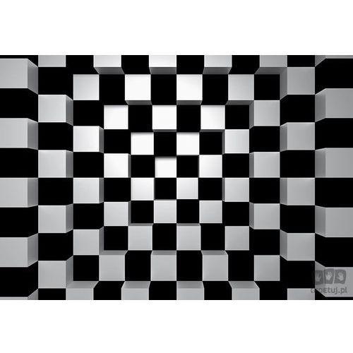 Fototapeta Black + White Squares 968, 968w