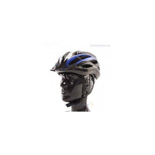 Axer sport Kask rowerowy axer liberty black z daszkiem
