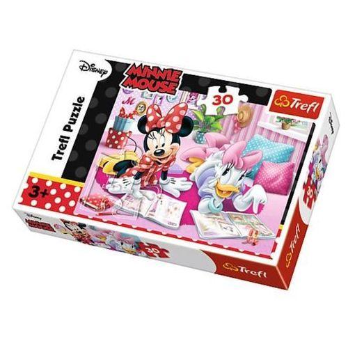 Trefl Puzzle myszka minnie najlepsze przyjaciółki 30