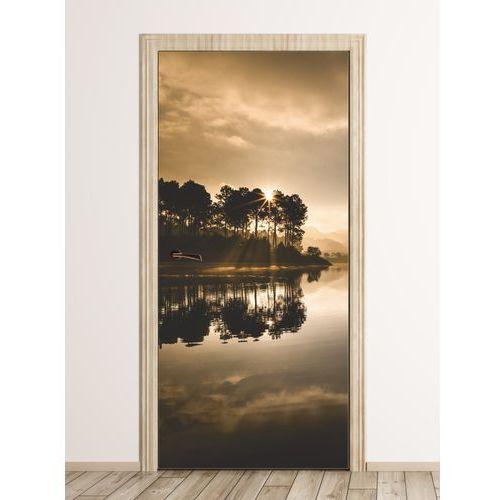 Fototapeta na drzwi drzewa w promieniach słońca FP 6223
