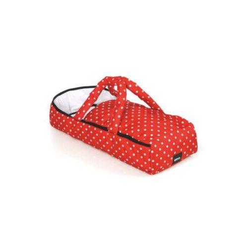 gondolka dla lalek czerwona w kropki 24891592 marki Brio