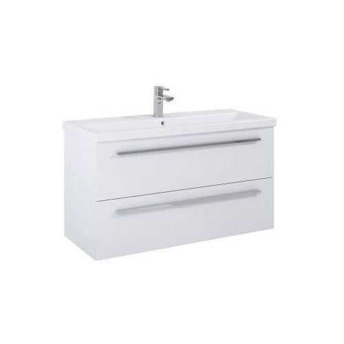 ELITA szafka podumywalkowa Kwadro Plus 100 2S white 166714