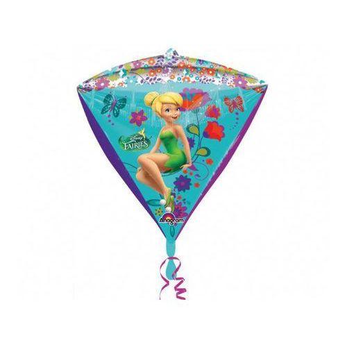 Balon foliowy diamentowy Dzwoneczek - 38 x 43 cm - 1 szt.