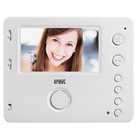 Miwi-urmet 1750/6 wideomonitor głośnomówiący miro do systemu 2voice biały