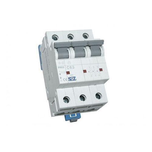 C63A 3P 10kA Wyłącznik nadprądowy bezpiecznik Typ S eska PR63 SEZ 1651 (8585009001651)