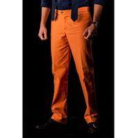 Suitsquare Pomarańczowe spodnie canyon