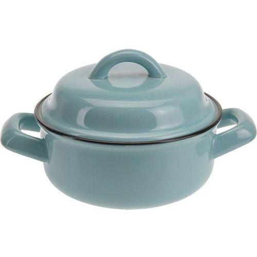 Ceramiczny garnek z pokrywką, naczynie żaroodporne, 200 ml