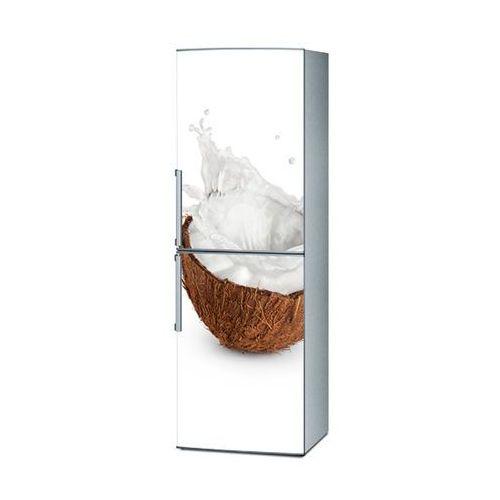 Mata magnetyczna na lodówkę - kokos na białym tle 4249 marki Stikero