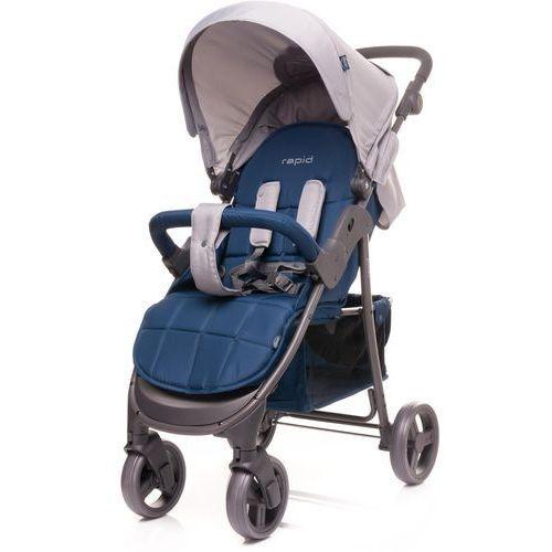 OKAZJA - 4baby wózek sportowy rapid, navy blue