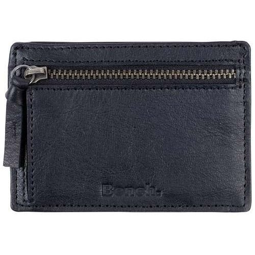 Bench Portfel - leather card & coin holder black beauty (bk11179)