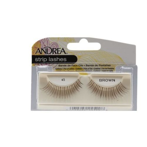 Andrea strip lashes 45 brown marki Ardell
