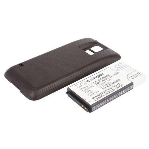Samsung Galaxy S5 / EB-B900BC 5600mAh 21.56Wh Li-Ion 3.85V powiększony czarny (Cameron Sino) (4894128083597)