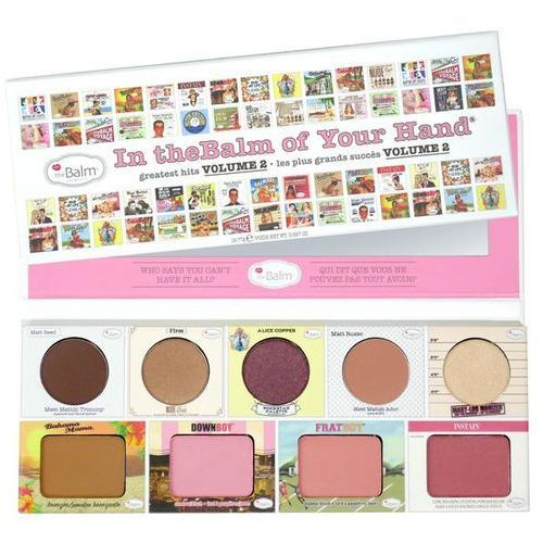 TheBalm In theBalm of Your Hand Vol.2 | Paleta do makijażu - OKAZJE