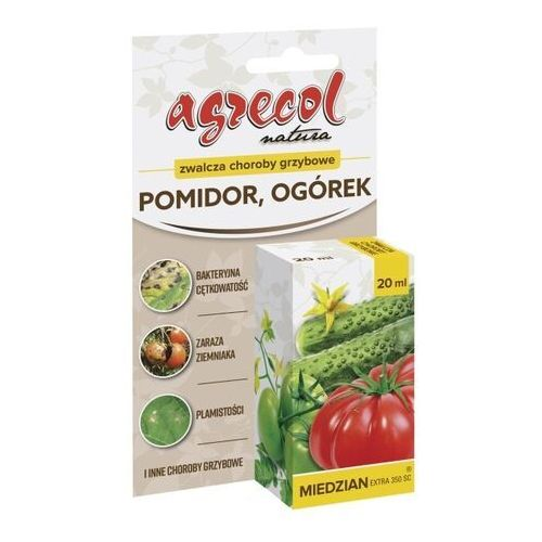 Środek grzybobójczy Agrecol Miedzian Extra 350 SC 20 ml