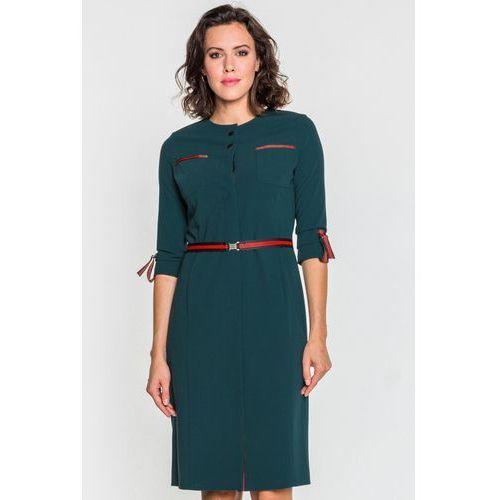 Elegancka sukienka o dopasowanym kroju - GaPa Fashion, 1 rozmiar