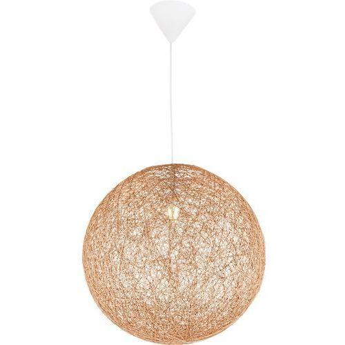 Lampa wisząca Globo Coropuna 15253T lampa sufitowa zwis 1x60W E27 biała / złota, 15253T