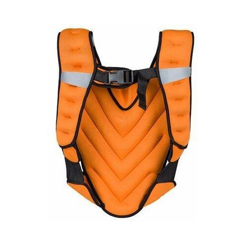 Kamizelka z obciążeniem klaper 5 kg - pomarańczowy marki Insportline