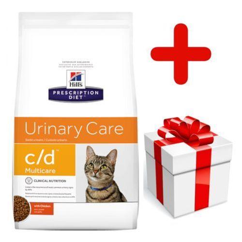 Hills prescription diet Hill's pd prescription diet feline c/d multicare kurczak 10kg + niespodzianka dla kota gratis!