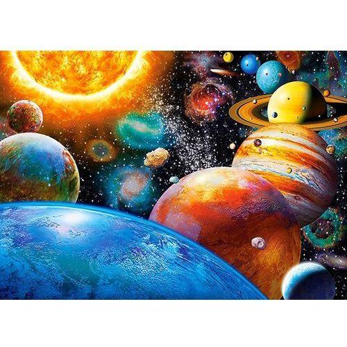 1-018345 Puzzle Planety i ich księżyce - PUZZLE DLA DZIECI