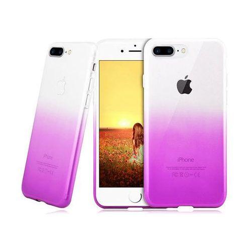 Etui Alogy ombre case Apple iPhone 7 Plus / 8 Plus Fioletowe - Fioletowy